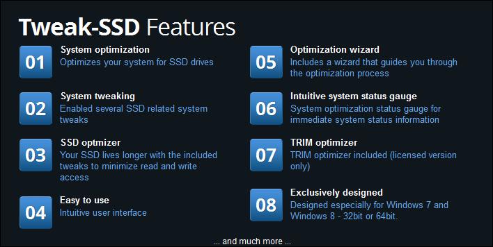 Windows10up.com Download Free Tweak-SSD: SSD optimization freeware | Daves Computer Tips