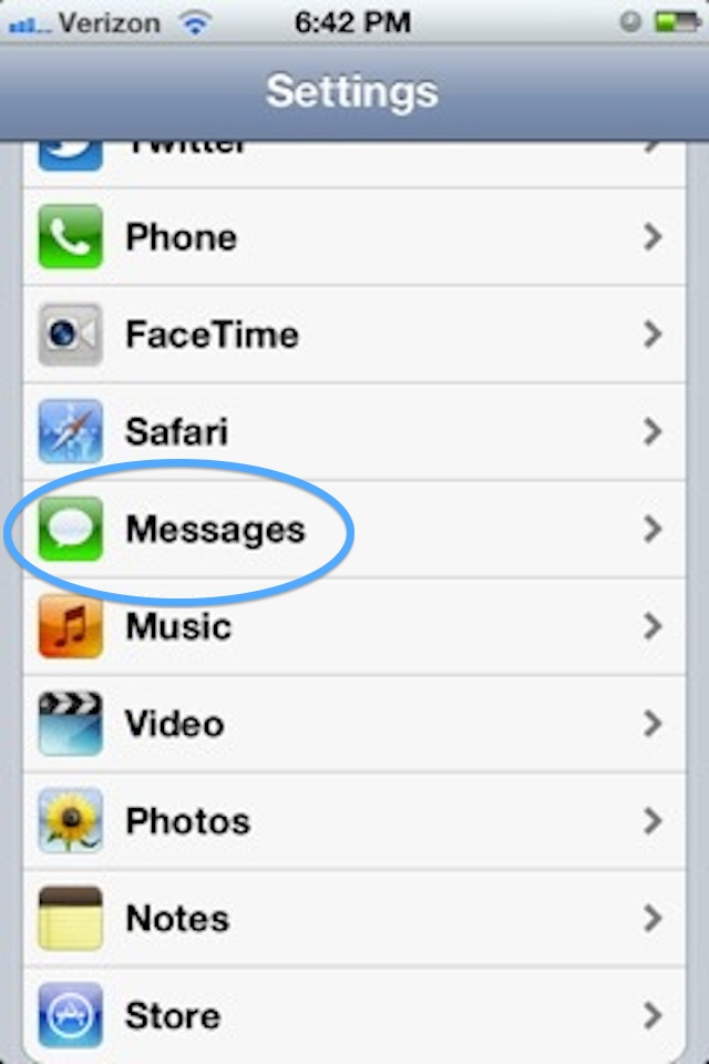 how to send text message not imessage on ipad