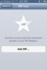 iOS 6 – Your VIP Inbox