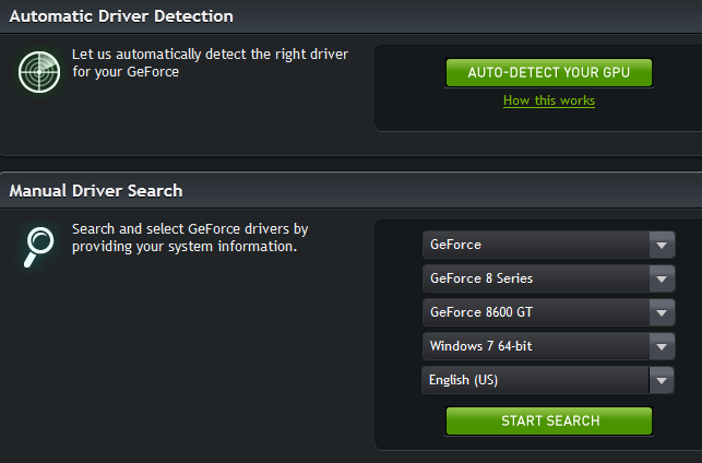 Nvidia Geforce 310m Driver Free Download
