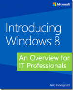 Free eBook from Microsoft: Introducing Windows 8