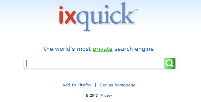 ixquick search