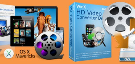 macX and winx video converter pro logos