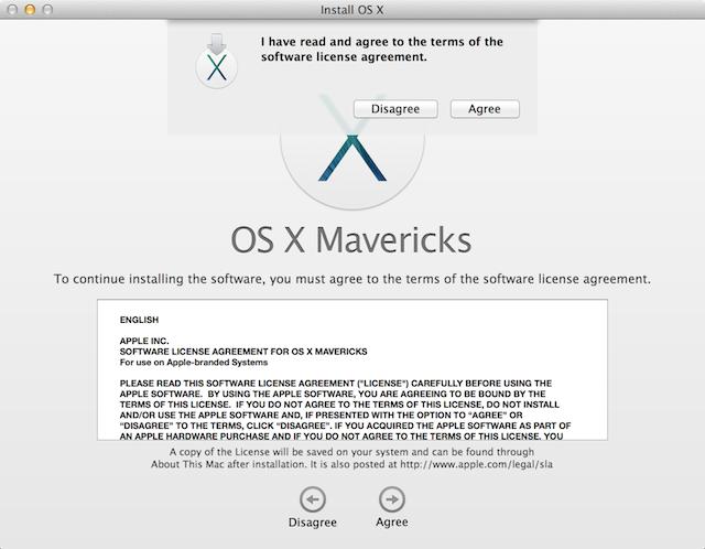 how to cancel mac os x installation
