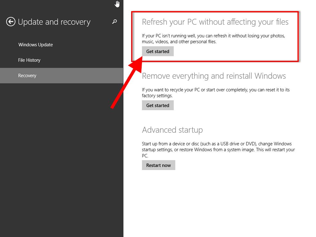 Как сделать recovery на windows 7