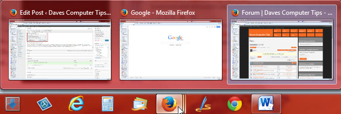 multiple firefox stacking in taskbar - win 7