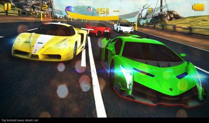 asphalt 8 - game image