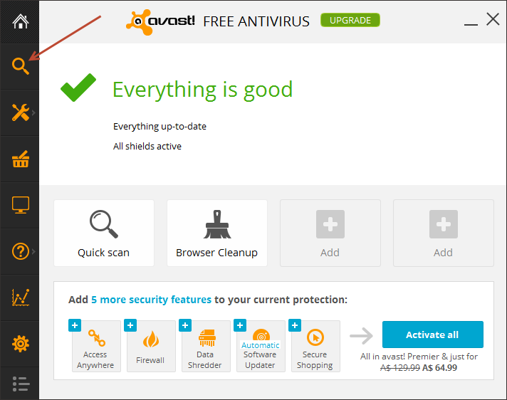 how to fix avast not launching