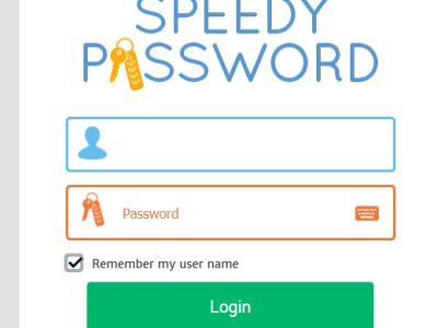 speedy password login