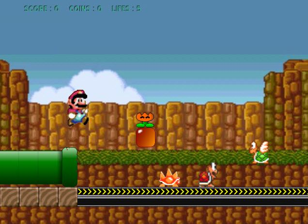 6 free portable retro games for Mario go fish