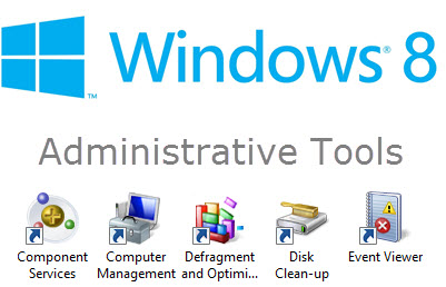 windows 8 - admin tools