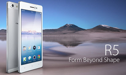 Oppo R5 - feature
