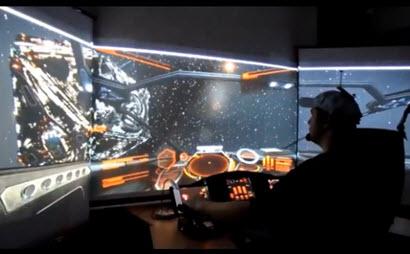 starship cockpit