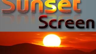 feature - sunsetscreen
