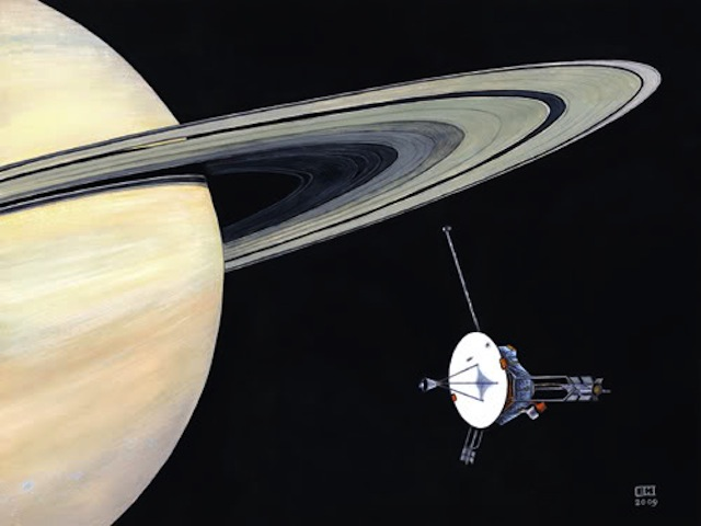 Voyager 1 Saturn Flyby (page 2) - Pics about space