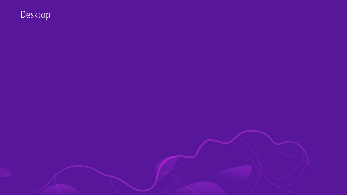Windows 8 Official Wallpaper Purple Windows 8 Desktop